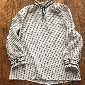 J. Crew factory sheer shirt sz 6